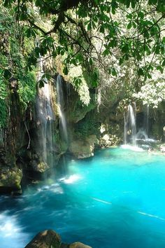 Puente de Dios Waterfalls,San Luis Potosí, Mexico  photo via andrea