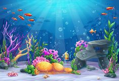 Kate Blue Underwater Photography Backdrop Colorful Fish Background Fairy Tale Photo Backgrounds Children Birthday Party Decoration Backdrops for Photoshoot Underwater Cartoon, Ocean Underwater, Underwater Painting, Under The Water, Under The Sea Background, Fish Background, Underwater Photography, Photography Backdrops, Party Photography