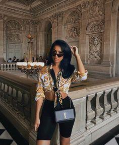 Biker Shorts - Kim Kardashian& hit piece can conquer you YES! Biker Shorts - A peça hit de Kim Kardashian pode te conquistar SIM! Biker Shorts - Kim Kardashian& hit piece can conquer you YES! Fashion Killa, Look Fashion, Girl Fashion, Fashion Outfits, Womens Fashion, Ladies Fashion, Fashion 2018, Mode Outfits, Short Outfits