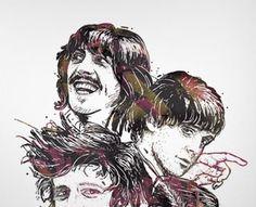 Beatles Poster by MP (via Creattica)
