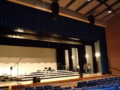 New QSC speakers installed by CSD at Carroll HS in Fort Wayne, IN