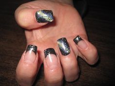 Galaxy nails inspired by pintrest