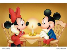 Baby Mickey and Minnie Mouse | Mickey And Minnie Mouse Baby Friends Caroling Disney Wallpaper with ...