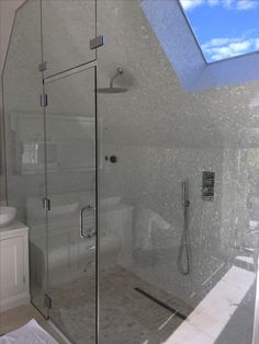 Shower / Steam room built by Mason Stowood