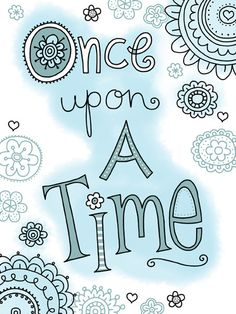 https://flic.kr/p/9uJkwR | 75 ONCE UPON A TIME | helenpickup.blogspot.com artwork available