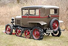 1929 FORD MODEL A SNOW BIRD