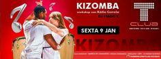 Criação de flyer - Kizomba.