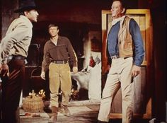 THE SONS OF KATIE ELDER (1965) - John Wayne brings in a herd of horses on location in Durango, Mexico - Directed by Henry Hathaway - Paramount - Movie still. Description from pinterest.com. I searched for this on bing.com/images