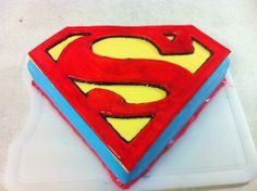 Superman- Man Of Steel Cake (How To Video), Cakes By ChoppA