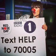Jessie J's Comic Relief Countdown! Star Rocks Long Black Locks