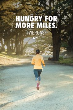 Hungry for more miles. Get ready for the road ahead and make your half marathon training experience one to remember. #werunsf