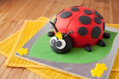 Beautiful Image of How To Make A Birthday Cake . How To Make A Birthday Cake Ladybird Birthday Cake Ilovecooking Shopkins Cake Toppers, Bolo Shopkins, Ice Cream Birthday Cake, Make Birthday Cake, Birthday Kids, Ladybug Cakes, Bird Cakes, Ladybird Cake, Springform Cake Tin