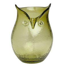 Cutest little owl vase......both stylish and a symbol of wisdom