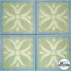 Encaustic Cement Tile - Tulipan
