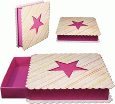Quilt idea... Square with star cut out of the center - solid fabric behind for star color...