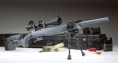 McMillan bolt action Tac-308 rifle