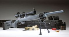 McMillan bolt action Tac-308 rifle - www.Rgrips.com