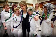 First Minister visits newly refurbished Glasgow Women's Library | Politics Scotland | Scoop.it