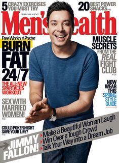 Men's Health March 2014: Jimmy Fallon | Men's Health