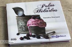 Helados y Polos, de Sandra Mangas. Libro de recetas