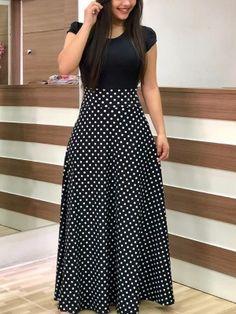 Solid Spaghetti Strap Denim Casual Dress Polka Dot Maxi Dresses, Polka  Dots, Polka Dot 6447e16db2