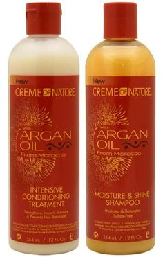 Creme Of Nature Argan Oil Shampoo For Relaxed Hair