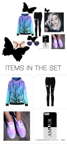 """luz oscura"" by marian-cd ❤ liked on Polyvore featuring art"