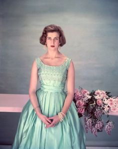 Princess Alexandra of Kent, photo Cecil Beaton. First cousin of Elizabeth II and daughter of Geroge the Duke of Kent and his wife Princess Marina.