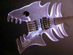 Fish guitar.
