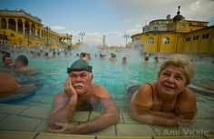 11 Awe-Inspiring Quotes from David Burnett, Joe McNally, Ami Vitale & Budapest Thermal Baths, Old Folks, Central Europe, Ancient Romans, Places Around The World, Hungary, Image, Faces, Amazing Places
