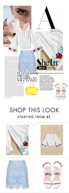 """sa"" by lifestyle-79 ❤ liked on Polyvore featuring Givenchy, denim, shein and summer2017"