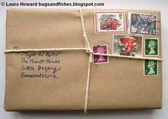 """If you're attracted to the """"brown paper packages tied up with string"""" look because you yearn for an old-fashioned Christmas, you can add an ..."""