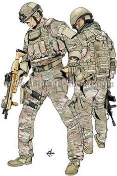 Tenue Multicam Warrior