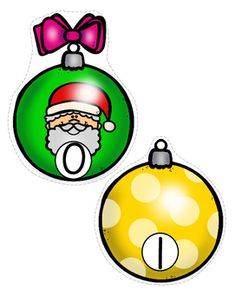 ***FREE***  This is a set of Christmas ornaments, numbered 0-20, to use for early learners - preschool, pre-K and Kindergarten. Large pieces for little hands. Print pages on cardstock, laminate for longer use, cut out ornaments. Use for number sequencing, number matching (print 2 copies), missing numbers activity etc. Tape on a large Christmas tree shape; pin with clothes pins in sequence on a clothesline or yarn - make up your own games to suit your teaching goals.