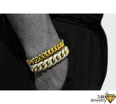 Decorative Cuban Link Chain Bracelet Ronnie Pinterest