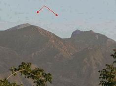A Mountain called 'Sleeping Beauty' is located in Quetta, Pakistan. It is only visible from a particular angle, while traveling from airport to the city, just short of EME centre.