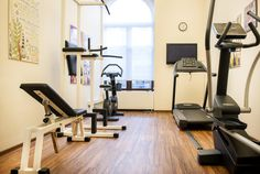 Hotel gym - free for our guests Hotel Gym, Boutiques, Stationary, Free, Boutique Stores, Clothing Boutiques, Boutique