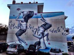 by Seth GlobePainter - for Memorie Urbane - Gaeta, Italy - May 2014