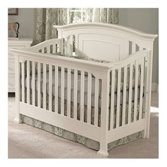 Muniré Furniture Medford Convertible Crib & Reviews | Wayfair