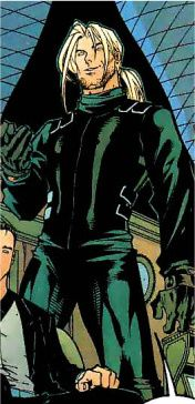 Former operative of the Birds of Prey organization. He has a condition where he has a non-linear memory and sporadic amnesia.