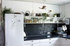 Praktisch: Tafelfolie in der Küche