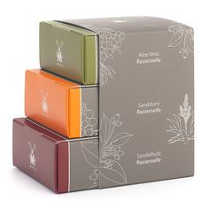 Image result for soap trio packaging