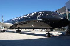 El Boeing 787, apodado «Dreamliner», es un avión de pasajeros de tamaño medio y fuselaje ancho desarrollado por el fabricante estadounidense Boeing Commercial Airplanes.