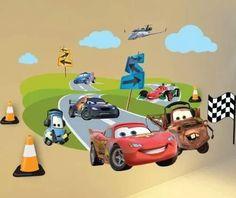 vinilos decorativos infantiles a todo color cars y toy story