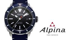 This month, we are offering an Alpina Seastrong Diver 300 watch worth CHF 1,139.