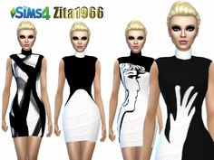 Mesh not included - U need the mesh for my recolor to show in CAS Found in TSR Category 'Sims 4 Female Everyday'