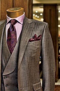 Stylish grey three piece
