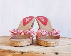 SALE / Candies 50s style shoes / Pin up sexy red by GrizzlyVelvet