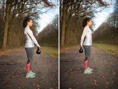 Workout tijdens kerst; de vijf beste kettlebell oefeningen - Eat.Run.Love.