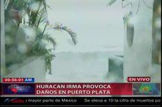 Huracán Irma Provoca Daños En Puerto Plata, Se Registran Fuertes Oleajes En Cabarete
